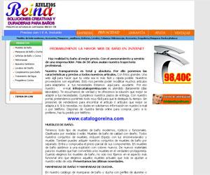 Azulejos reina ba os web empresarial v premios web de - Azulejos reina ...