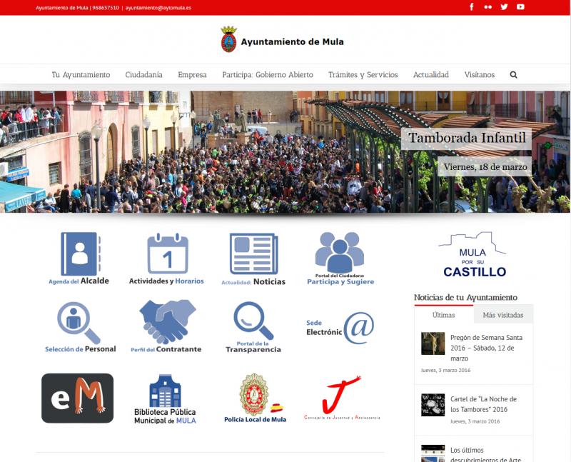 Ayuntamiento De Mula - Web Oficial